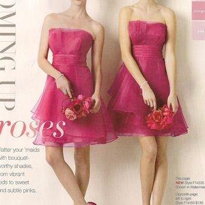 David's Bridal, Short Prom Dress